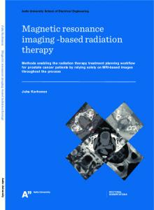 Magneticresonance imaging -based radiation therapy
