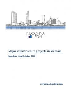 Major infrastructure projects in Vietnam