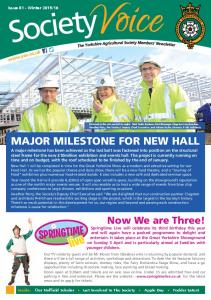 MAJOR MILESTONE FOR NEW HALL