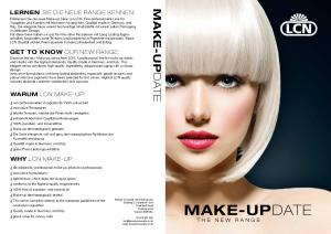 MAKE-UPDATE WARUM LCN MAKE-UP: WHY LCN MAKE-UP: THE NEW RANGE