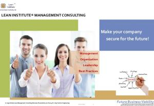 Make your company secure for the future!