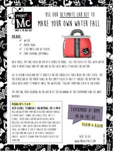 Make your own Water fall