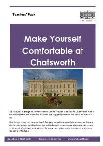 Make Yourself Comfortable at Chatsworth