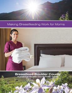 Making Breastfeeding Work for Moms