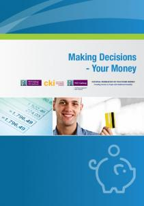 Making Decisions - Your Money