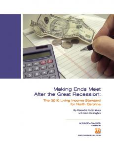 Making Ends Meet After the Great Recession: