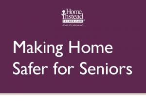 Making Home Safer for Seniors