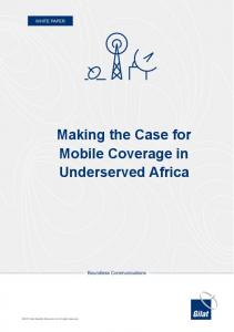 Making the Case for Mobile Coverage in Underserved Africa