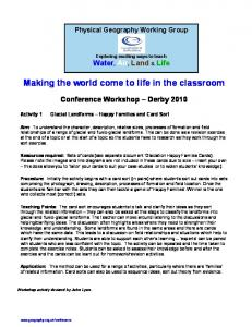 Making the world come to life in the classroom