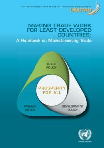 MAKING TRADE WORK FOR LEAST DEVELOPED