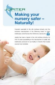 Making your nursery safer Naturally!