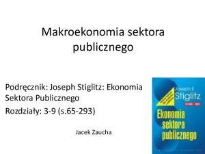 Makroekonomia sektora publicznego