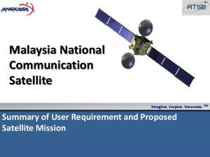 Malaysia National Communication Satellite