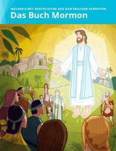 MALBUCH MIT GESCHICHTEN AUS DEN HEILIGEN SCHRIFTEN. Das Buch Mormon