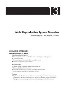 Male Reproductive System Disorders