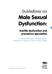 Male Sexual Dysfunction: