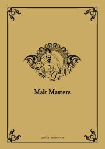 Malt Masters SYDNEY MELBOURNE
