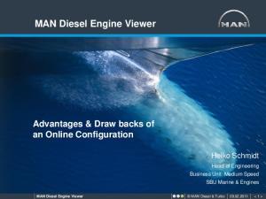 MAN Diesel Engine Viewer