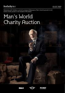 Man s World Charity Auction