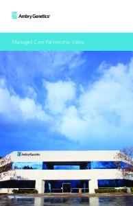 Managed Care Partnership Value