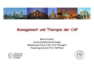 Management und Therapie der CAP