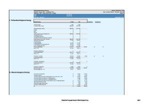Managementerfolgsrechnung Datum: :33. Seite: 1 Total Total. 00 AEP AG 00 AEP AG Kum: Jan - Dez 2012 Gesamtjahr: 2012