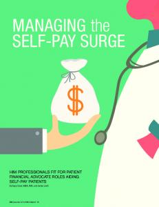 MANAGING the SELF-PAY SURGE