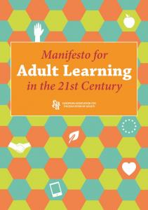 Manifesto for Adult Learning. in the 21st Century