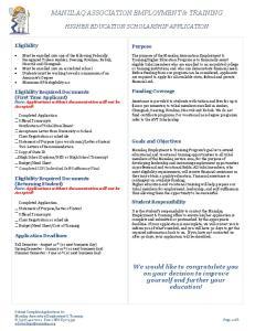 MANIILAQ ASSOCIATION EMPLOYMENT & TRAINING