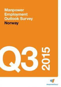 Manpower Employment Outlook Survey Norway