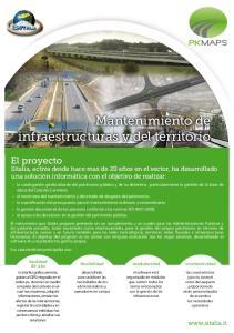 Mantenimiento de infraestructuras y del territorio