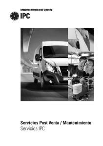 Mantenimiento Servicios IPC