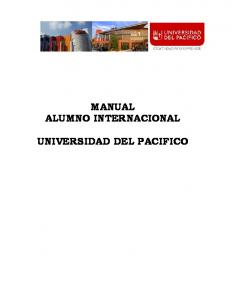 MANUAL ALUMNO INTERNACIONAL UNIVERSIDAD DEL PACIFICO