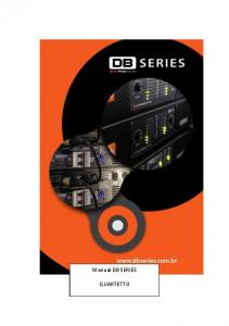 Manual DB SERIES QUARTETTO