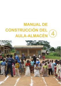 MANUAL DE CONSTRUCCION DEL AULA-ALMACEN