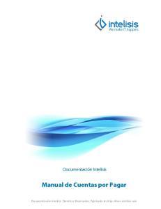 Manual de Cuentas por Pagar