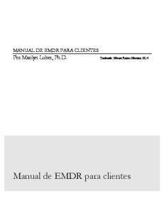 Manual de EMDR para clientes
