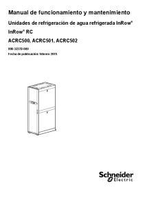 Manual de funcionamiento y mantenimiento