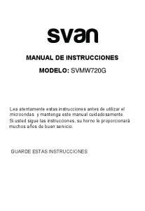 MANUAL DE INSTRUCCIONES MODELO: SVMW720G