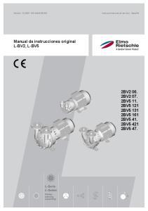 Manual de instrucciones original L-BV2, L-BV5 2BV BV BV BV BV BV BV BV BV5 47