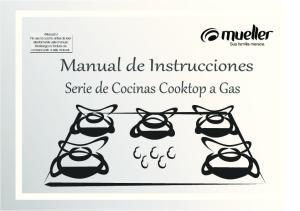 Manual de Instrucciones Serie de Cocinas Cooktop a Gas