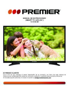 MANUAL DE INSTRUCCIONES SMART TV LED (32 ) TV-5726LSM