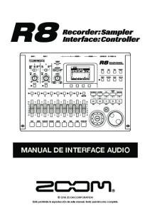 MANUAL DE INTERFACE AUDIO