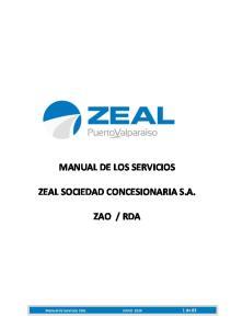 MANUAL DE LOS SERVICIOS