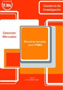MANUAL DE MERCADEO PARA PyMES