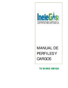 MANUAL DE PERFILES Y CARGOS