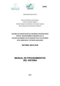 MANUAL DE PROCEDIMIENTOS DEL SISTEMA