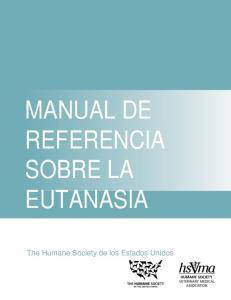 MANUAL DE REFERENCIA SOBRE LA EUTANASIA