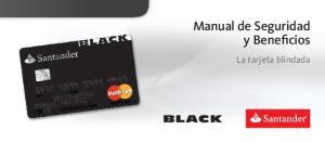 Manual de Seguridad y Beneficios. La tarjeta blindada