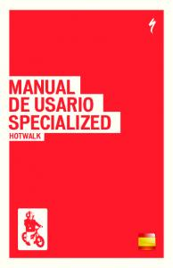 MANUAL DE USARIO SPECIALIZED HOTWALK